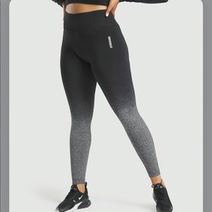 NWT Adapt Ombré Seamless Leggings Gymshark